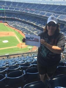 Stacy attended New York Yankees vs. Toronto Blue Jays - MLB on Jul 4th 2017 via VetTix