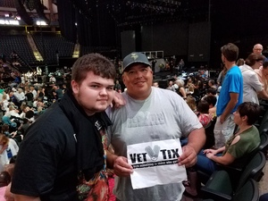 Michael Pena attended Earth, Wind and Fire and Chic Ft. Nile Rodgers: 2054 the Tour on Jul 27th 2017 via VetTix