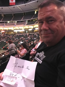 Robert attended Earth, Wind and Fire and Chic Ft. Nile Rodgers: 2054 the Tour on Jul 27th 2017 via VetTix