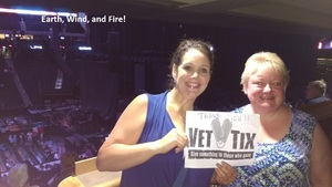 Meredith attended Earth, Wind and Fire and Chic Ft. Nile Rodgers: 2054 the Tour on Jul 27th 2017 via VetTix