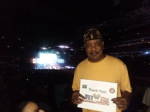Derrick Winding attended Earth Wind and Fire With Special Guest Chic Feat. Nile Rodgers on Jul 26th 2017 via VetTix