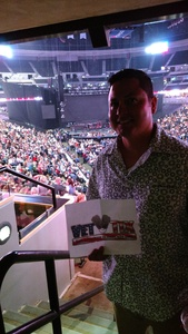 Adrian attended Brad Paisley With Special Guest Dustin Lynch, Chase Bryant, and Lindsay Ell on Jul 15th 2017 via VetTix