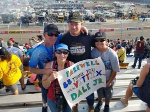 Charles attended Can-am 500 at Pir - Monster Energy NASCAR Cup Series on Nov 12th 2017 via VetTix