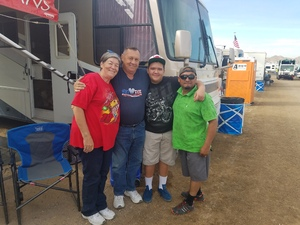 Gary attended Can-am 500 at Pir - Monster Energy NASCAR Cup Series on Nov 12th 2017 via VetTix