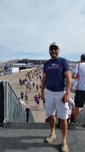 John attended Can-am 500 at Pir - Monster Energy NASCAR Cup Series on Nov 12th 2017 via VetTix