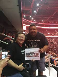 Jean attended Queen + Adam Lambert on Jul 20th 2017 via VetTix