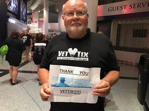 Heikki attended Queen + Adam Lambert on Jul 20th 2017 via VetTix