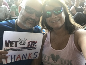 Leticia attended United We Rock Tour 2017 - Styx and Reo Speedwagon With Don Felder - Reserved Seats on Jul 30th 2017 via VetTix