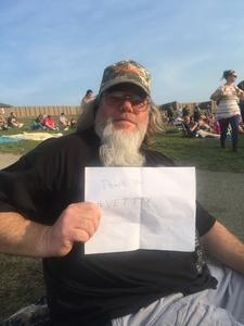 Karl attended Jeff and Larry's Backyard BBQ Plus the Marshall Tucker Band - Lawn Seats on Aug 26th 2017 via VetTix