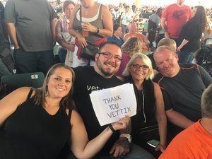 Steven attended Jeff and Larry's Backyard BBQ Plus the Marshall Tucker Band - Lawn Seats on Aug 26th 2017 via VetTix