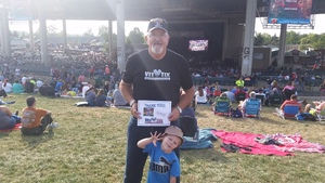 James Hamilton attended Jeff and Larry's Backyard BBQ Plus the Marshall Tucker Band - Lawn Seats on Aug 26th 2017 via VetTix