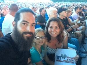 Richard attended Lady Antebellum You Look Good World Tour With Special Guest Kelsea Ballerini, and Brett Young on Jul 29th 2017 via VetTix