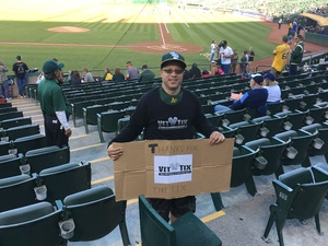 Click To Read More Feedback from Oakland Athletics vs. Tampa Bay Rays - MLB