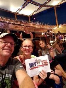 Harold attended Sabrina Carpenter - the De-tour on Aug 5th 2017 via VetTix