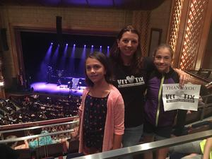 Paul attended Sabrina Carpenter - the De-tour on Aug 5th 2017 via VetTix