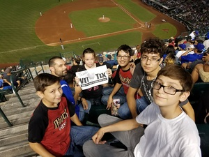 Anthony attended Arizona Diamondbacks vs. Los Angeles Dodgers - MLB on Aug 10th 2017 via VetTix