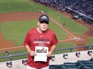 Francisco attended Arizona Diamondbacks vs. Los Angeles Dodgers - MLB on Aug 10th 2017 via VetTix