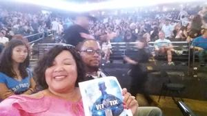 Gregory attended Lionel Richie: All the Hits With Very Special Guest Mariah Carey on Jul 21st 2017 via VetTix