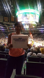 Shielda attended Los Angeles Sparks vs. New York Liberty - WNBA on Aug 4th 2017 via VetTix
