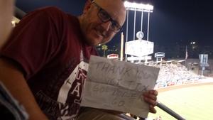 DEAN attended Los Angeles Dodgers vs. Minnesota Twins - MLB on Jul 25th 2017 via VetTix