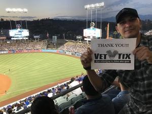 Jose attended Los Angeles Dodgers vs. Minnesota Twins - MLB on Jul 25th 2017 via VetTix