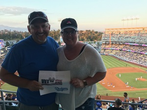 James attended Los Angeles Dodgers vs. Minnesota Twins - MLB on Jul 25th 2017 via VetTix