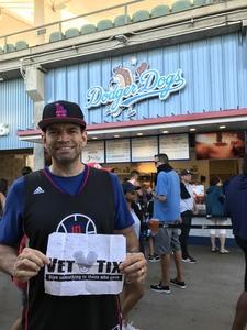 Todd attended Los Angeles Dodgers vs. Minnesota Twins - MLB on Jul 25th 2017 via VetTix