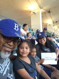 Larry attended Los Angeles Dodgers vs. Minnesota Twins - MLB on Jul 25th 2017 via VetTix
