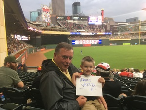 Jim attended Minnesota Twins vs. Texas Rangers - MLB on Aug 5th 2017 via VetTix