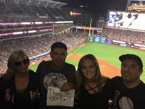 Joel attended Cleveland Indians vs. Colorado Rockies - MLB on Aug 8th 2017 via VetTix