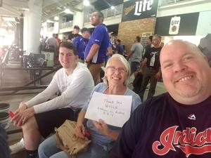 bryan attended Cleveland Indians vs. Colorado Rockies - MLB on Aug 8th 2017 via VetTix