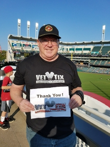 David attended Cleveland Indians vs. Colorado Rockies - MLB on Aug 8th 2017 via VetTix