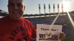 Todd attended Cleveland Indians vs. Colorado Rockies - MLB on Aug 8th 2017 via VetTix