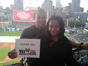 Kendall attended Cleveland Indians vs. Boston Red Sox - MLB on Aug 22nd 2017 via VetTix