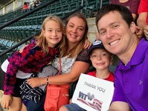 Anthony attended Cleveland Indians vs. Boston Red Sox - MLB on Aug 22nd 2017 via VetTix