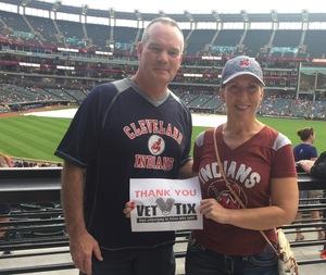 Bridget attended Cleveland Indians vs. Boston Red Sox - MLB on Aug 22nd 2017 via VetTix