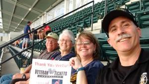 Debra attended Cleveland Indians vs. Boston Red Sox - MLB on Aug 22nd 2017 via VetTix