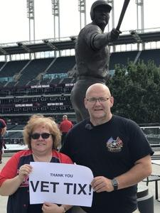 Ken attended Cleveland Indians vs. Boston Red Sox - MLB on Aug 22nd 2017 via VetTix