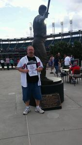 VINCENT attended Cleveland Indians vs. Boston Red Sox - MLB on Aug 22nd 2017 via VetTix