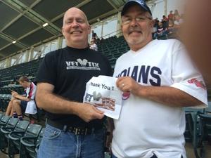 Calvin attended Cleveland Indians vs. Boston Red Sox - MLB on Aug 22nd 2017 via VetTix