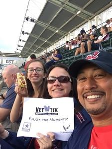 Darrell attended Cleveland Indians vs. Boston Red Sox - MLB on Aug 22nd 2017 via VetTix