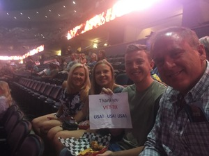Greg attended John Mayer - the Search for Everything on Jul 19th 2017 via VetTix