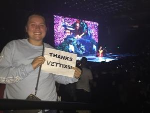 Allen attended John Mayer - the Search for Everything on Jul 19th 2017 via VetTix