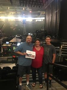 Brian attended John Mayer - the Search for Everything on Jul 19th 2017 via VetTix