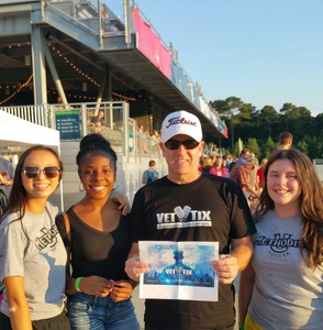 Martin attended North Carolina Courage vs. Seattle Reign - National Womens Soccer League on Aug 5th 2017 via VetTix