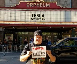 Click To Read More Feedback from Tesla With Special Guest Voices of Extreme