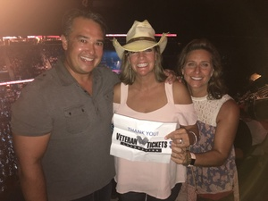 Michael attended Soul2Soul Tour With Tim McGraw and Faith Hill on Aug 17th 2017 via VetTix