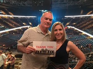 Lawrence attended Soul2Soul Tour With Tim McGraw and Faith Hill on Aug 17th 2017 via VetTix