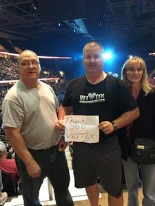 William attended Soul2Soul Tour With Tim McGraw and Faith Hill on Aug 17th 2017 via VetTix