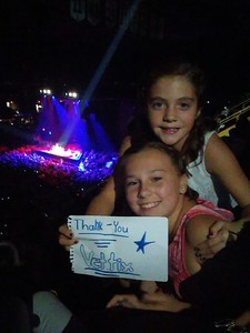 Jeff attended Soul2Soul Tour With Tim McGraw and Faith Hill on Aug 17th 2017 via VetTix
